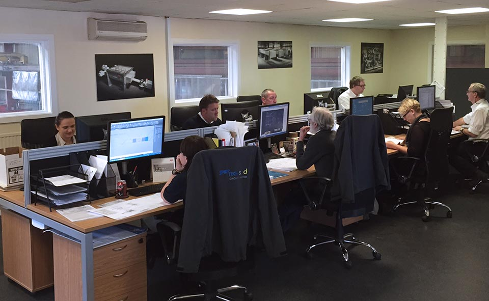 Spirotech-SRD head office in Sawtry, Cambridgeshire