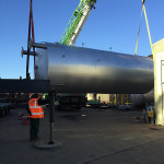 Spirotech-SRD Group complete large energy recovery vessel