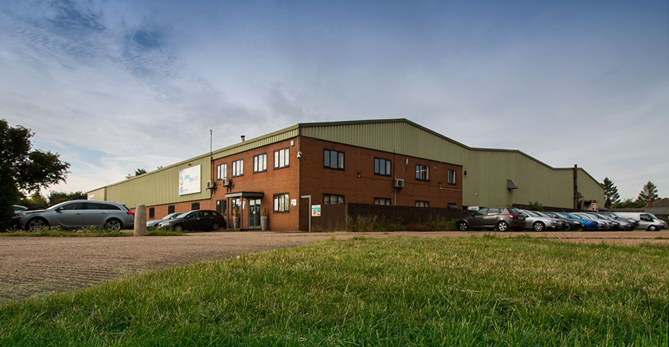 Spirotech-SRD headquaters in Sawtry, Cambridgeshire