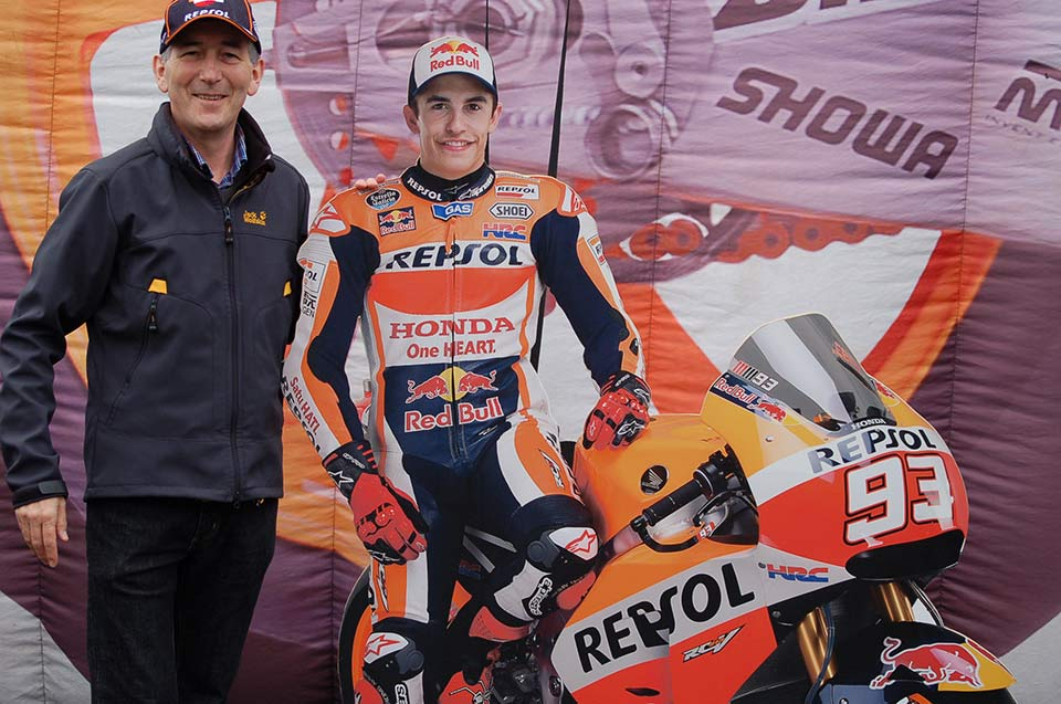 MotoGP ticket prize draw winner