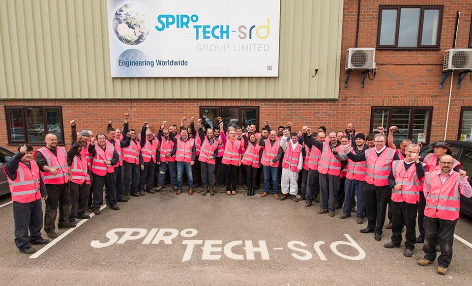 Spirotech Wear It Pink