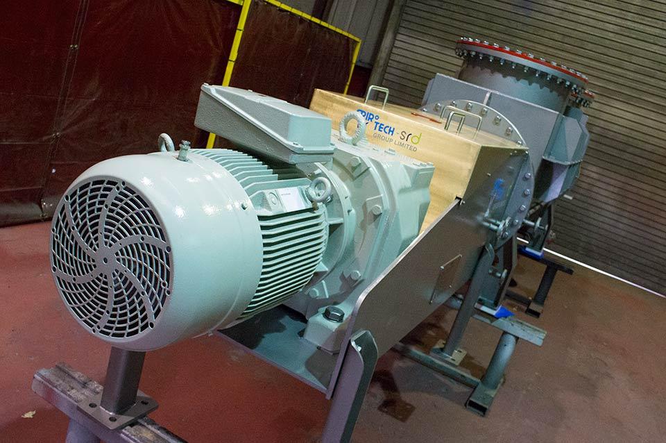 Pressurised screw conveyor - Spirotech-SRD