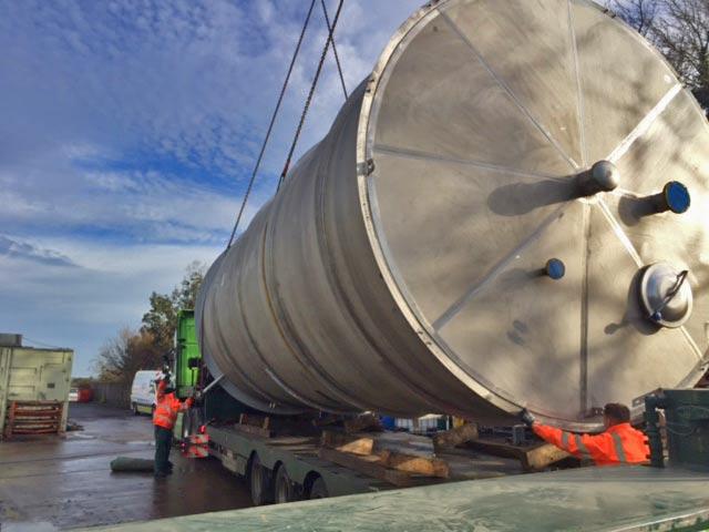 Stainless steel water vessel - Spirotech-SRD