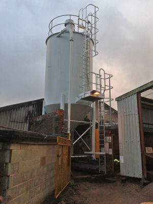 Silo maintenance for Forticrete