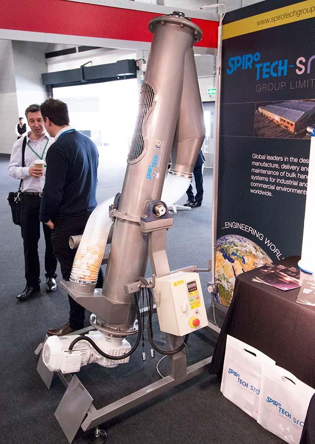 Spirotech-SRD stand at BULKEX16