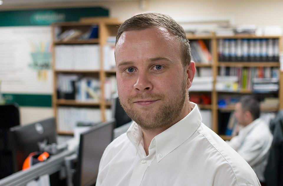 Spirotech-SRD Group appoints new Operations Assistant, Adam Colby