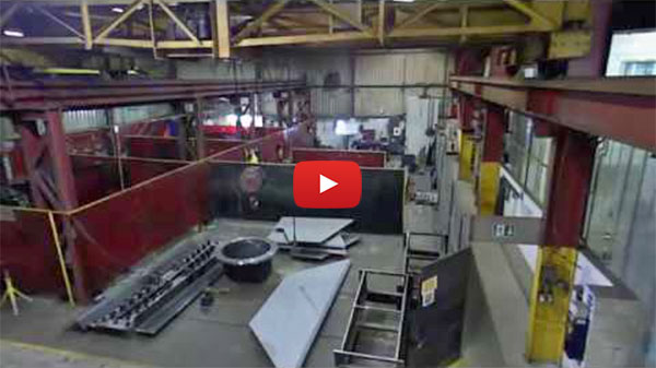 Fabrication of screw conveyors and pressure vessels