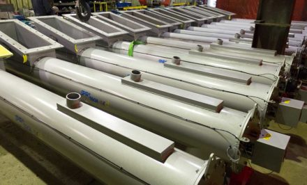 Screw conveyors to be incorporated into a new biomass conversion project at Lynemouth power station.