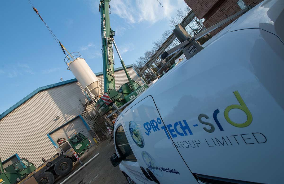 Silo installation for cement storage - Spirotech-SRD