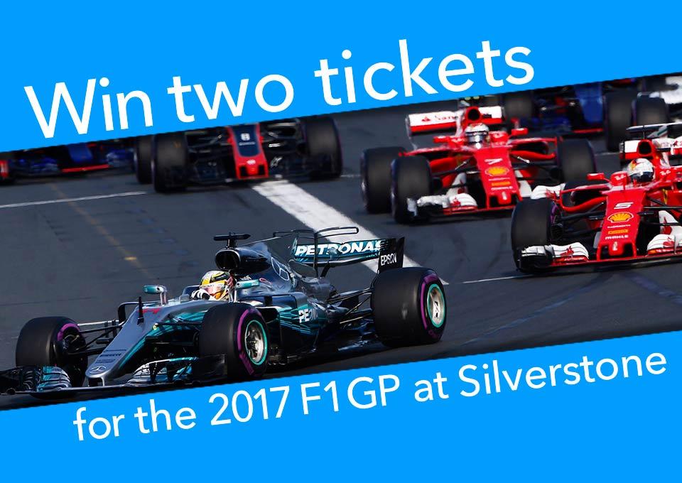F1 Prize Draw 2017
