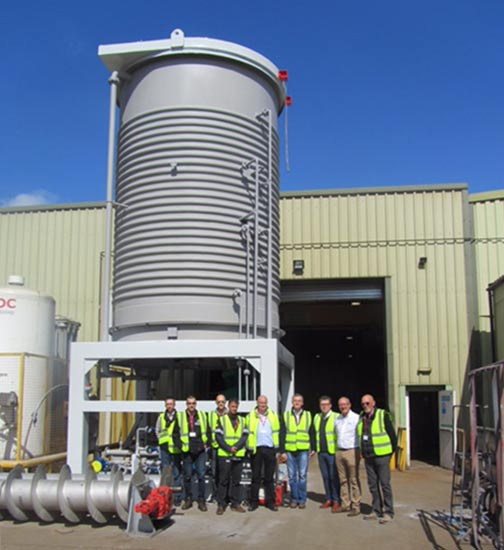 Spirotech clients visit factory for vessel inspection