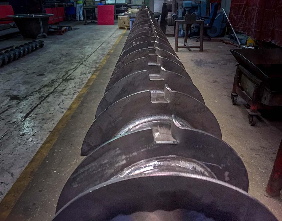 Conveyor screws - rapid build project