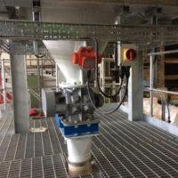 Bulk powder handling system increases efficiency