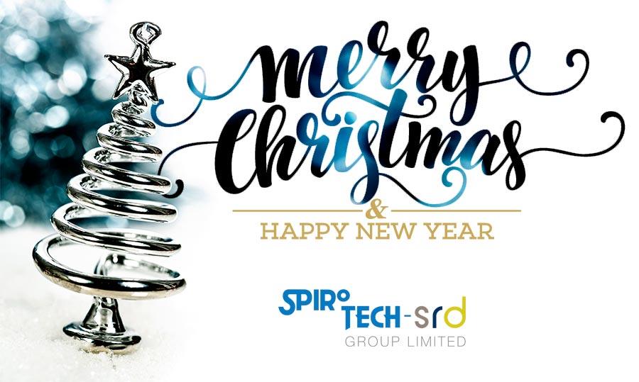 Spirotech-SRD Christmas opening hours