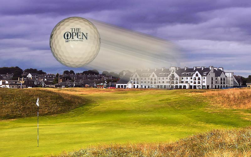 Win tickets for 147th Open at Carnoustie
