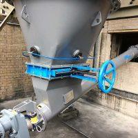 Hopper-screw conveyor