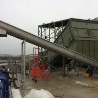 Screw conveyor installation by Spirotech-SRD Group