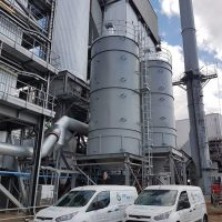 Rapid build - design and manufacture of 2 silos for energy company