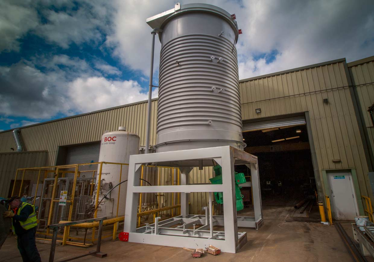 Silo design, manufacture and installation - Spirotech
