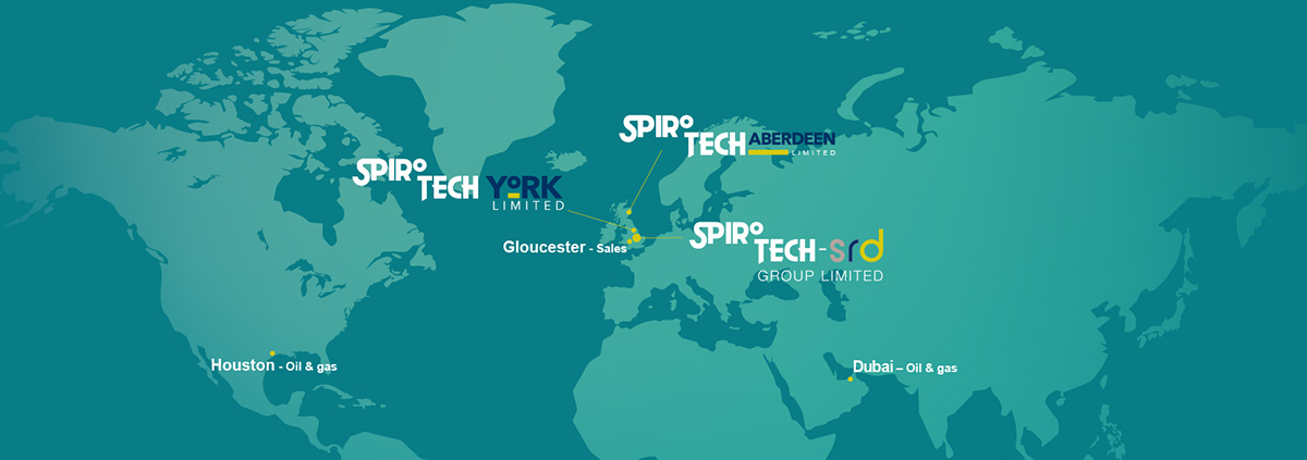 Spirotech divisions around the globe