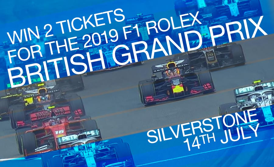 Win tickets for F1 British GP 2019