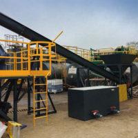 Spirotech hopper, conveyor and dryer
