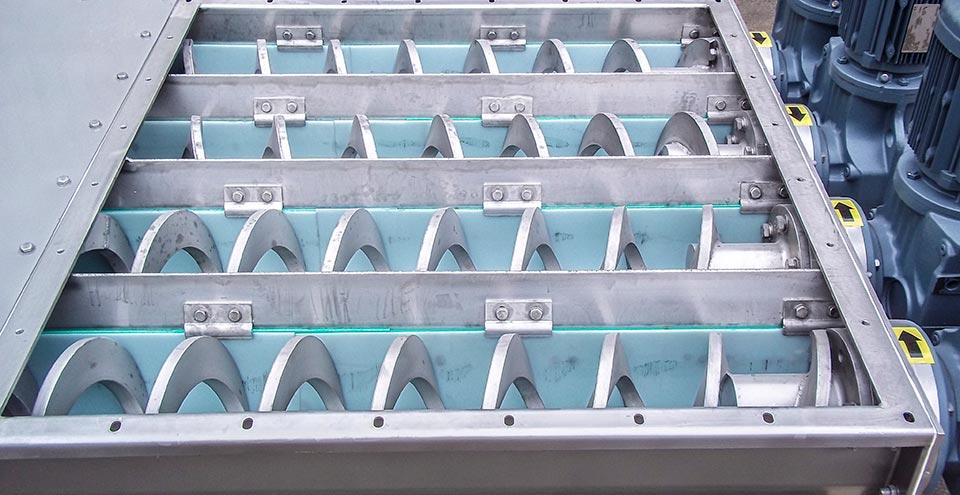 Multi screw bin dischargers - Spirotech-SRD - Bulk materials handling products