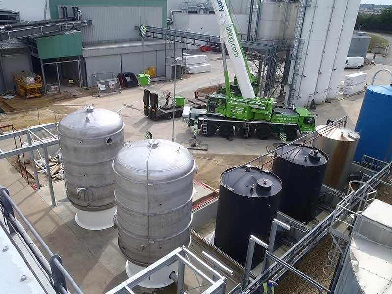 40.000 litre stainless steel pressure vessels - Spirotech-SRD Group