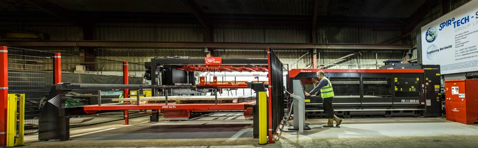 Spirotech-SRD workshop and machine equipment, Sawtry
