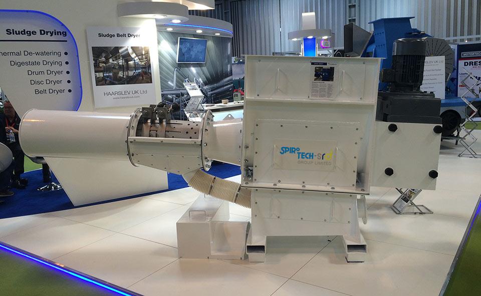 400 Series Sludge dewatering compactor