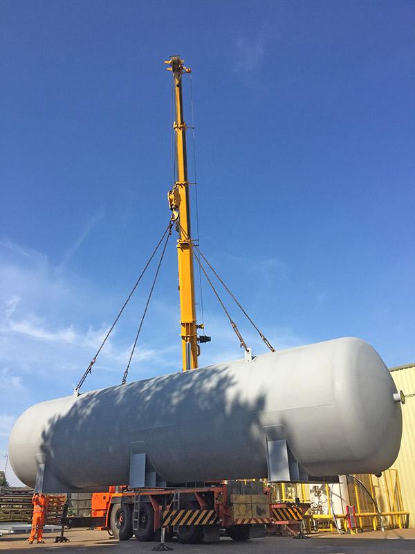 Pressure vessels bound for Norway - Spirotech-SRD