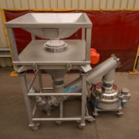 FIBC big bag discharger
