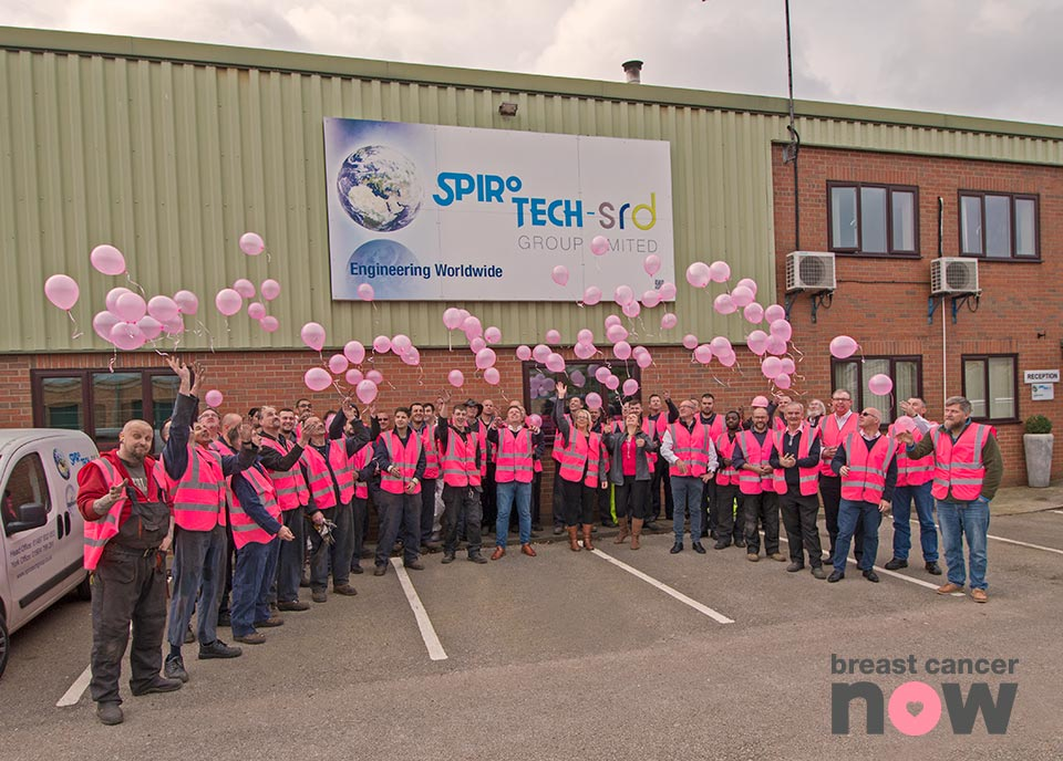 Wear it Pink day to raise awareness of great cancer at Spirotech-SRD