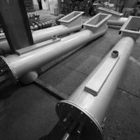 Screw conveyors to be incorporated into a new biomass conversion project