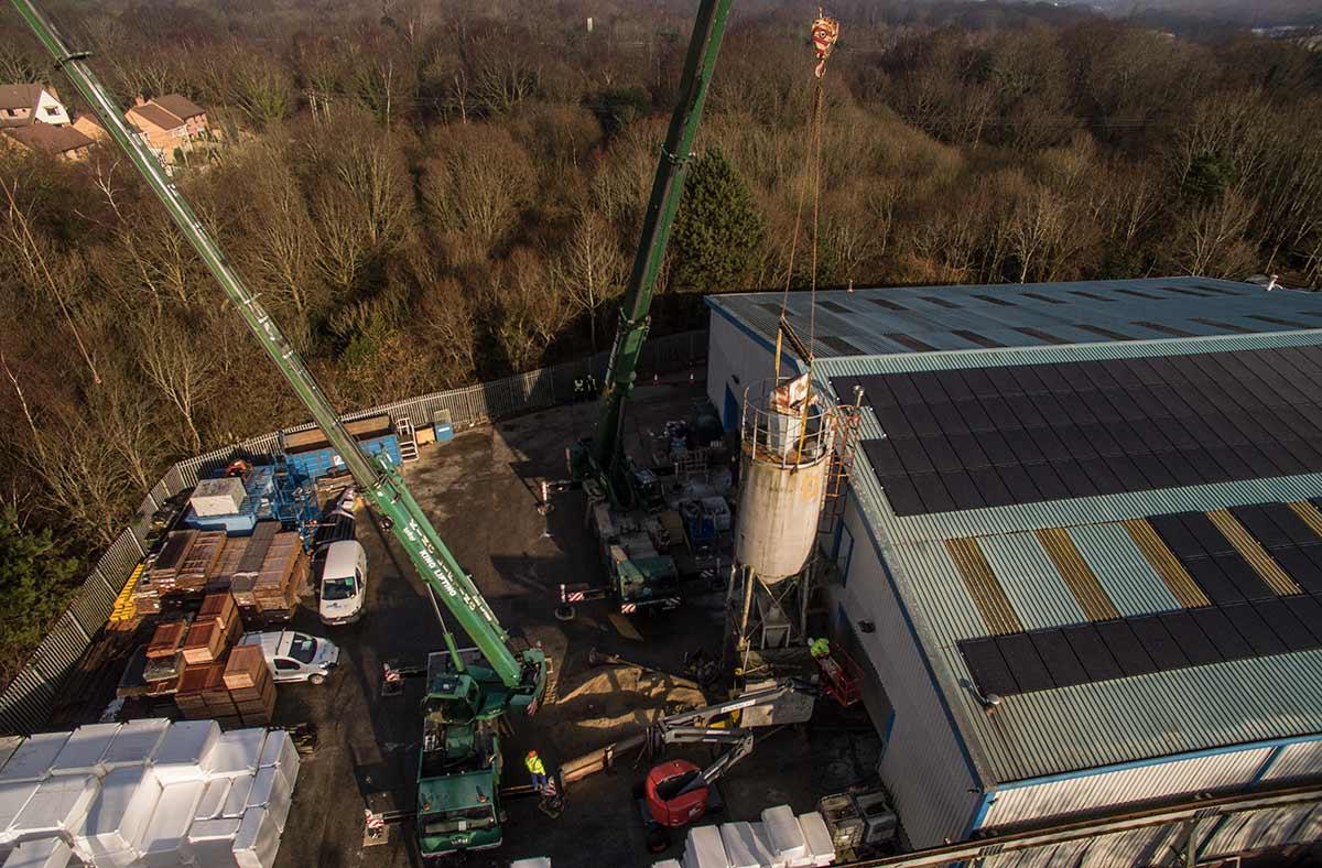 Removal of silo - Spirotech-SRD