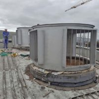silo explosion vent system