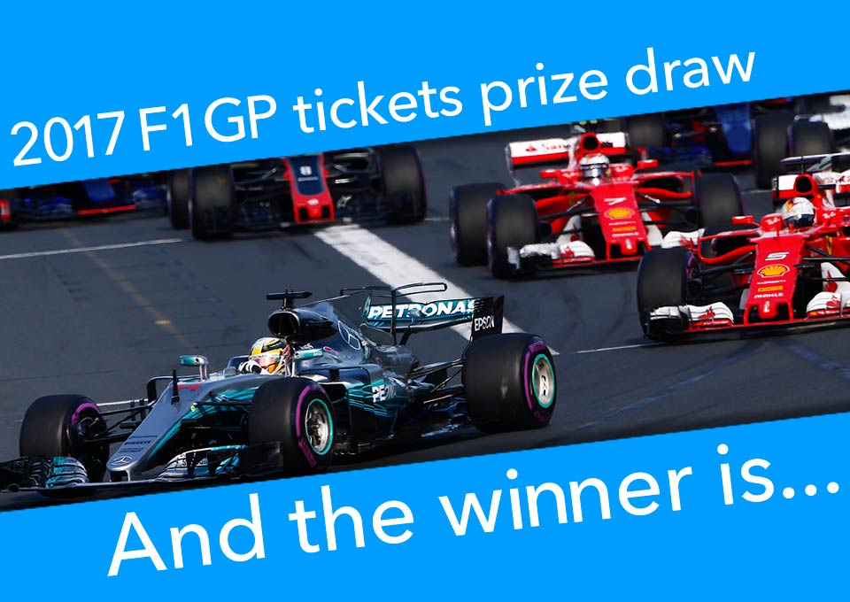 F1 prize winner 2017