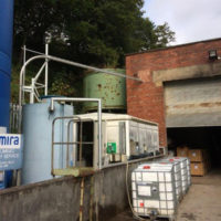Bulk powder handling system increases efficiency