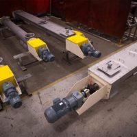Screw conveyors for Dedert Corporation