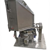 Sack tipping and sieving unit for major hot drinks provider