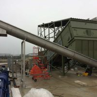 Screw conveyor installation by Spirotech-SRD Group