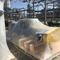 Acid cake screw conveyor for Chicago petrochemical plant