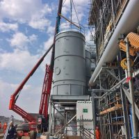 Installation of 2 silos for energy company