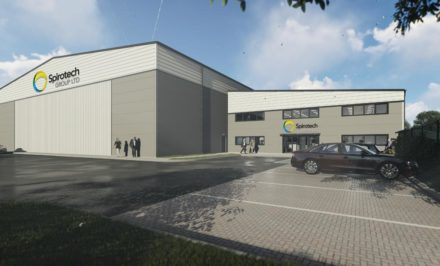 New Head Office and factory for Spirotech, Sawtry, Cambridgeshire
