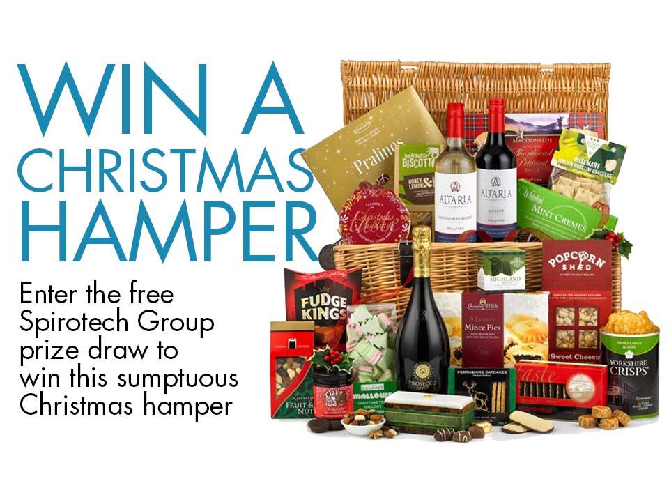 Win a Christmas hamper - Spirotech Group Ltd