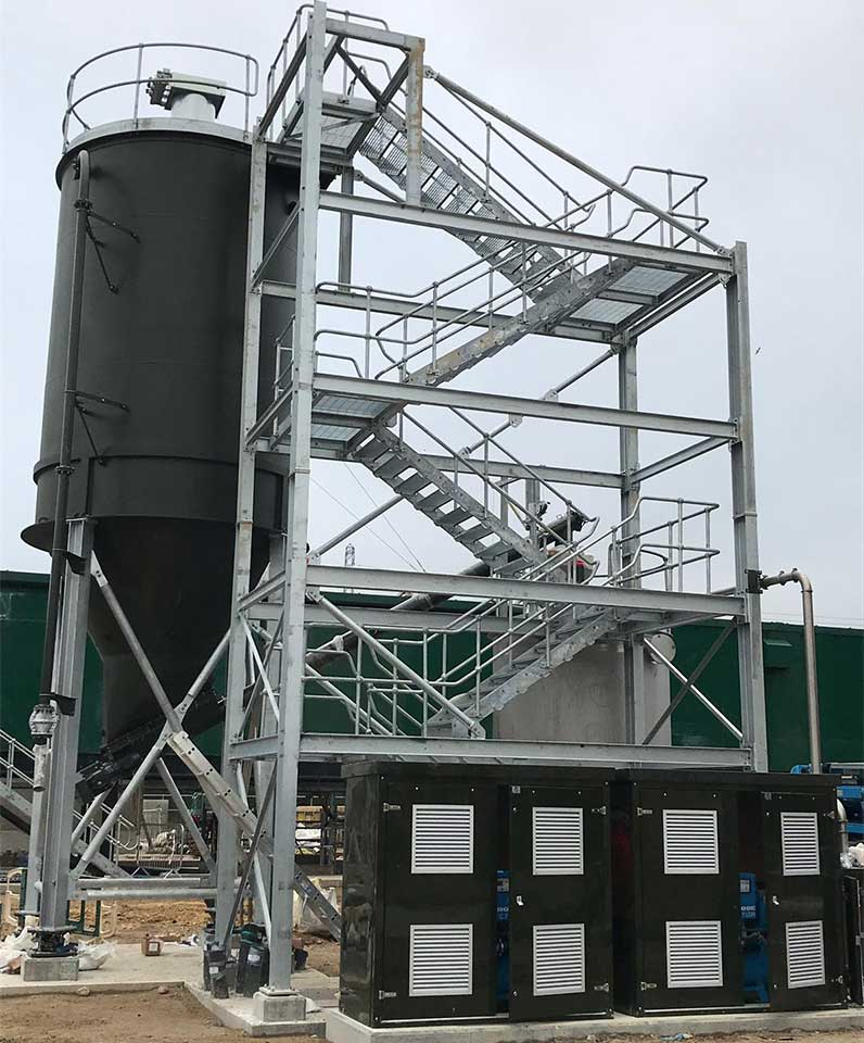 Silo design, manufacture and installation