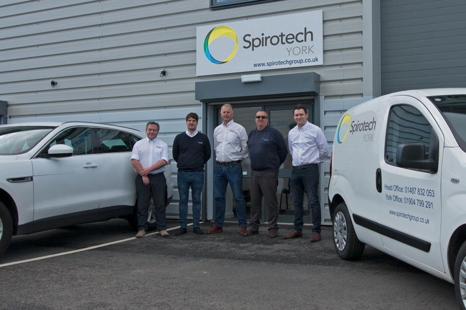Spirotech York team