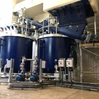 Lime powder mix tanks - Spirotech Group