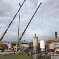 Spirotech Group silo design, construction and installation for British Sugar