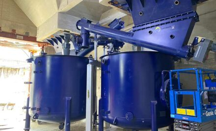 Replacing and renewing vessels for UK water treatment plant